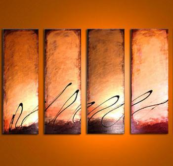Image of 4 Bronze Latte Sunsets 14k Gold - Free Ship Fed Ex USA