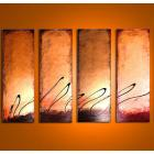 Image of 4 Bronze Latte Sunsets 14k Gold - Chocolate Espresso