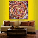 Image of Hitchcock Vertigo - Abstract Art - Special order 3 feet wide