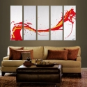 Image of SOLD - The Red Dragon - Enormous Art Statement