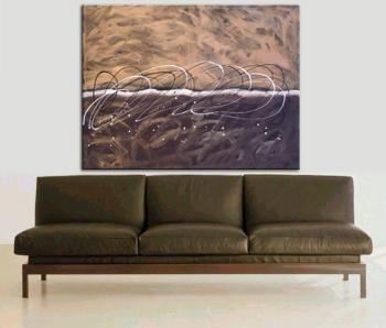 Image of Original Signed Art -  6ft Chocolate Sandstorm